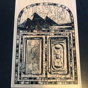 Club Scrap Large Egyptian Hieroglyphics Stamper